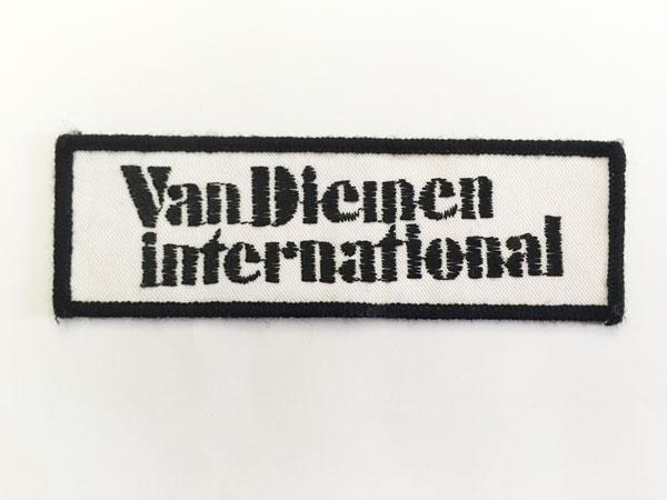 Van Diemen(バン・ディーメン インターナシォナル)ワッペン