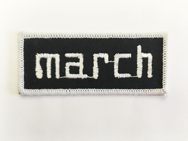 march(マーチ レーシング カーズ)ワッペン