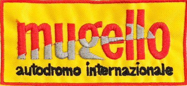 Mugello(イタリア ムジェロ サーキット)ワッペン (イエロー)
