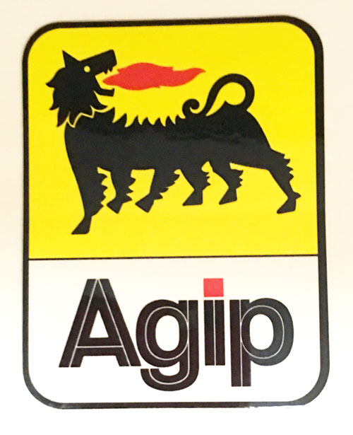 Agip 公式ステッカー