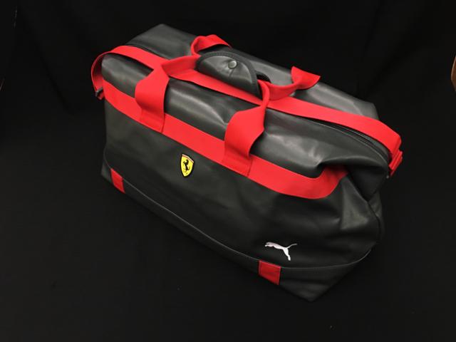 フェラーリ(FERRARI F1) F1パドッククラブ ゲスト用 ウィークエンダー バッグ グレー