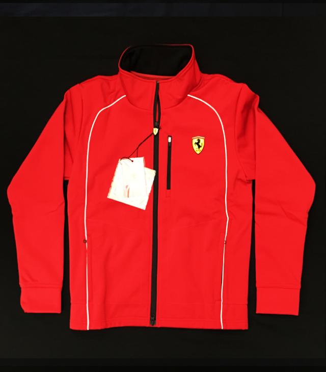 フェラーリ(FERRARI F1)F1パドッククラブ ゲスト用 ソフトシェルジャケット レッド サイズM