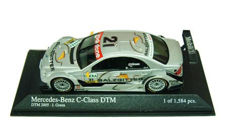 1/43 2005 DTM メルセデスベンツ CクラスNO.21 グリーン