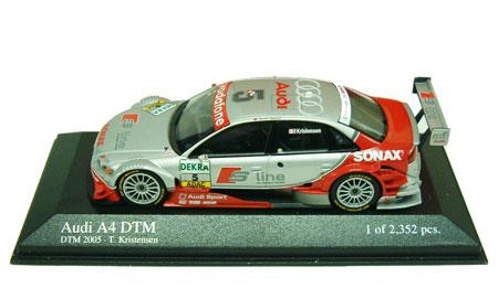 1/43 2005 DTM アウディ A4 NO.5 クリステンセン