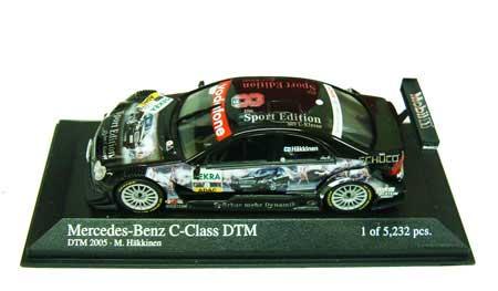 1/43 2005 DTM メルセデスベンツ CクラスNO.8 ハッキネン