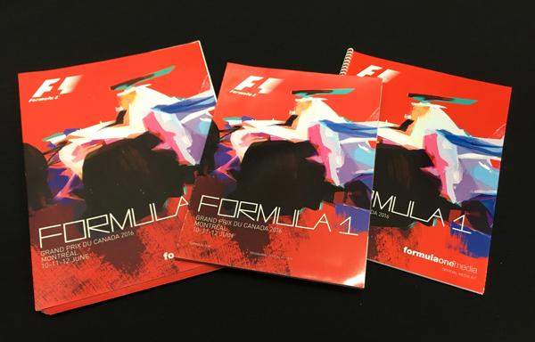 F1公式プログラム 2016年 カナダGP(メディアキット付)