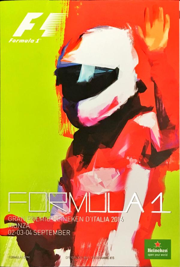 F1公式プログラム 2016年 イタリアGP