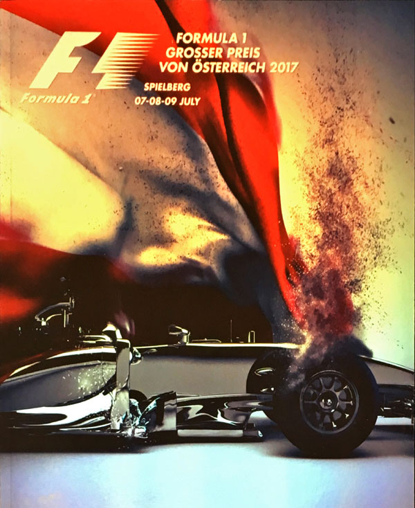 F1公式プログラム 2017 オーストリアGP (メディアキット付・USB付)