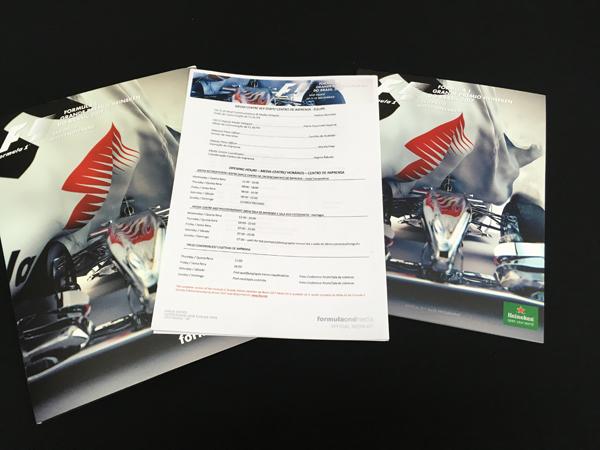 F1公式プログラム 2017 ブラジルGP 公式プレスキット(メディアキット付)