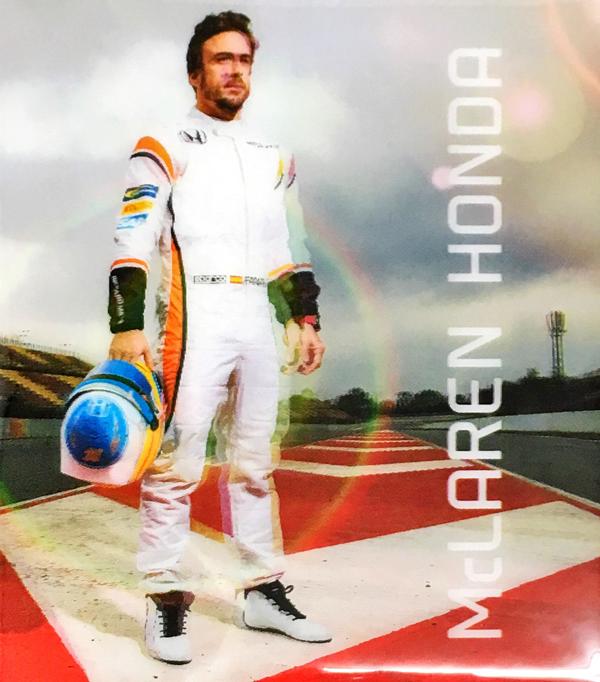 2017 マクラーレン ホンダ F.アロンソ ドライバーズカード