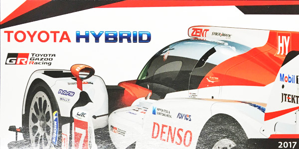 2017 WEC TOYOTA(トヨタ)  HYBRID TS050 チームカード NO7