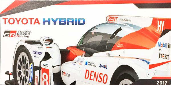 2017 WEC TOYOTA(トヨタ) HYBRID TS050 チームカード NO8