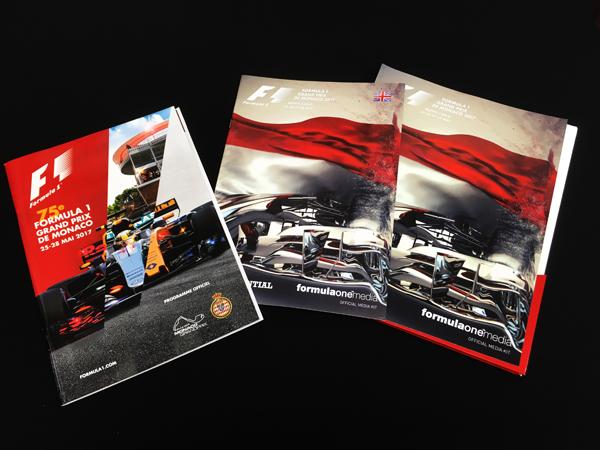 F1公式プログラム 2017 モナコGP(メディアキット付)