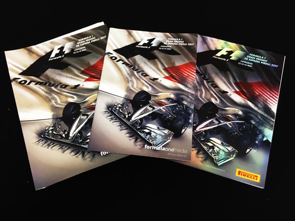 F1公式プログラム 2017 スペインGP(メディアキット付)