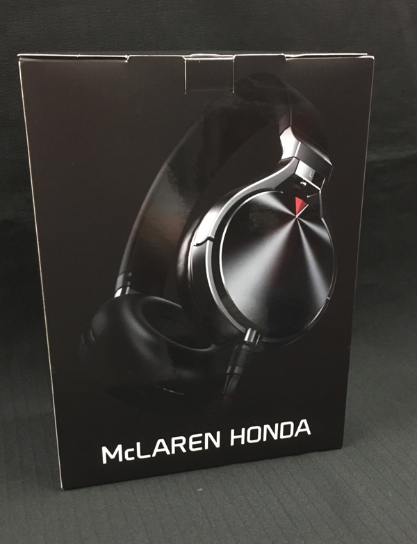 Mclaren・HONDA(マクラーレン・ホンダ) パドックゲスト用ヘッドフォン ケンウッド製KR900M