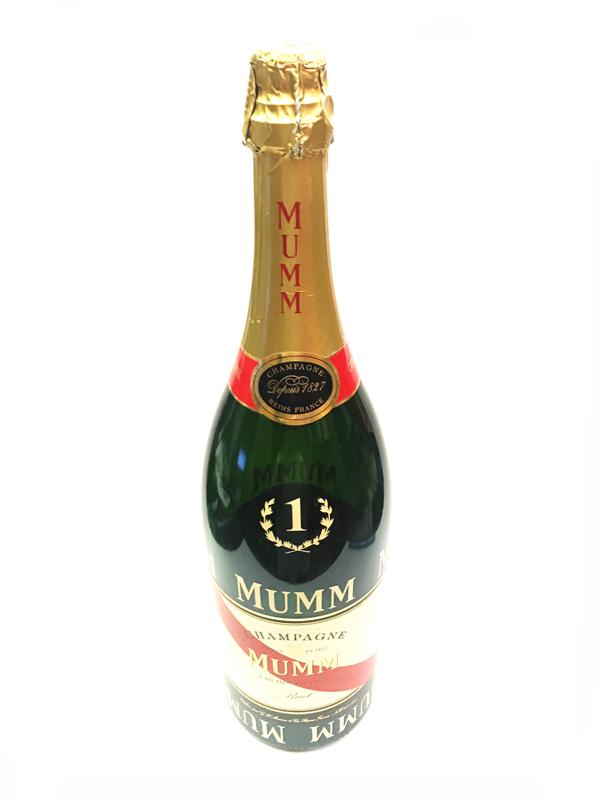 MUMM マム F1表彰台シャンパイファイトマグナム ダミーボトル