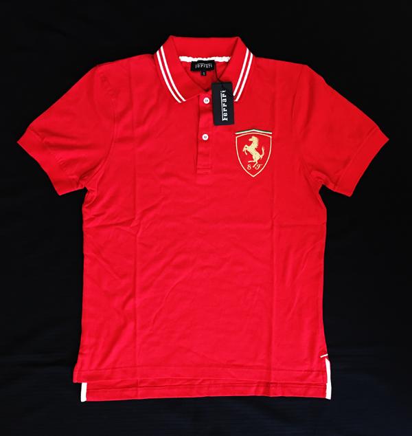 FERRARI フェラーリ F1パドッククラブ ゲスト用 ポロシャツ