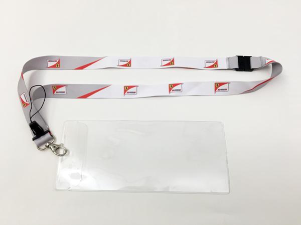 FERRARI フェラーリ F1パドッククラブ ゲスト用 チケットケース付き ランヤード