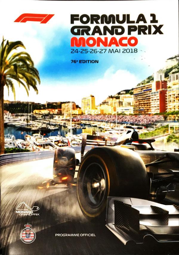 F1公式プログラム 2018 モナコGP (メディアキット付)