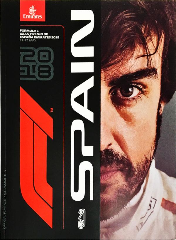 F1公式プログラム 2018 スペインGP(メディアキット付)