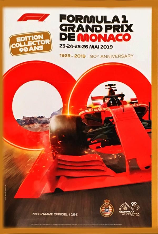 F1公式プログラム 2019 モナコGP