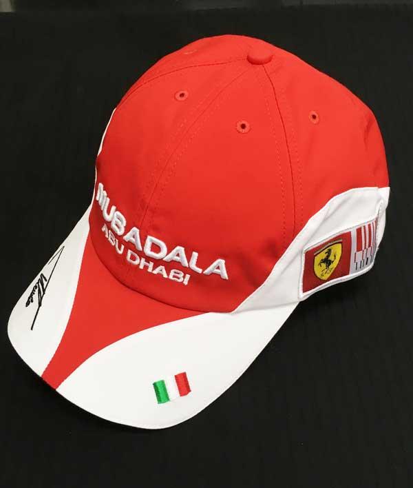 2010年 フェラーリ(FERRARI F1) F.アロンソ本人用支給品キャップ 新品