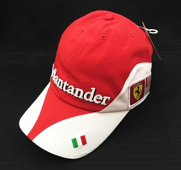2010年 フェラーリ(FERRARI F1) チーム支給品 チームキャップ 新品