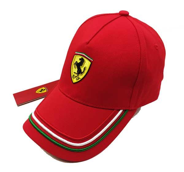 フェラーリ フェラーリストア限定 SF トリコロール キャップ