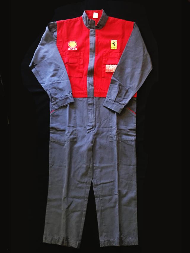 フェラーリ マラネロファクトリーつなぎ(ファクトリージャンプスーツ)(新品)サイズL(日本サイズXL)