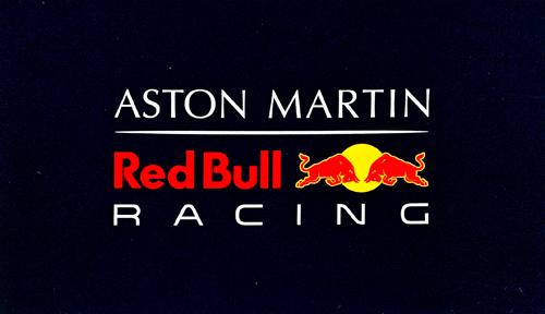 ASTON MARTIN REDBULL RACING レッドブル キャンペーンステッカー TYPEA