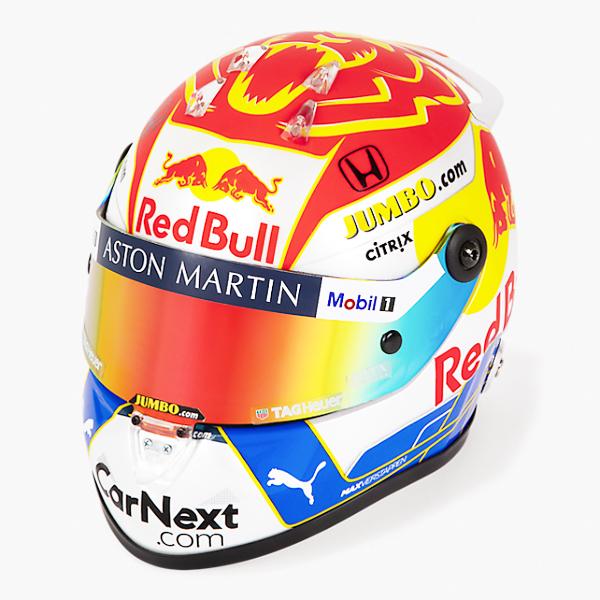 【再入荷】2020 ASTON MARTIN REDBULL RACING レッドブル M.フェルスタッペン 2020シュタイアーマルクGP仕様 1/2 ヘルメット