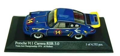 1/43 ポルシェ 911 カレラ RSR3.0 TEAM HOLBERT NO14 1974年