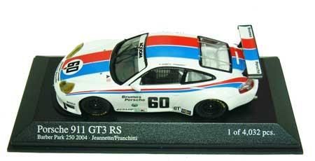 1/43 ポルシェ 911GT3 RS バーダーパーク 250 NO.60