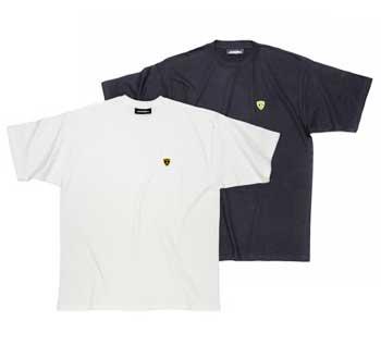 ランボルギーニ ワンポイントTシャツ ブラック/ホワイト