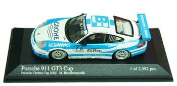 1/43 ポルシェ911 GT3 No.16 2005カレラカップ
