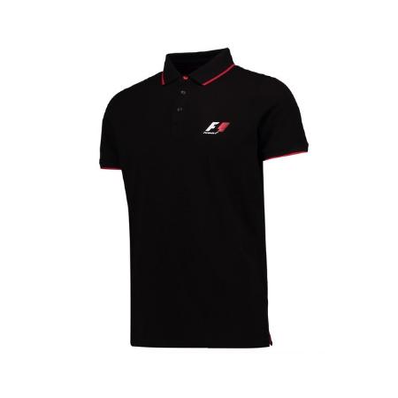 F1 公式 ポロシャツ カラーブラック サイズM(日本サイズL)