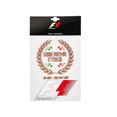 F1 2017 イタリアGP公式 BIGステッカー(A4サイズ)