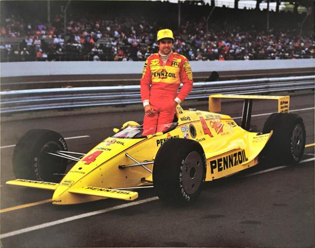 リック・メアーズ 1989  インディ チームペンスキー ドライバーズカード