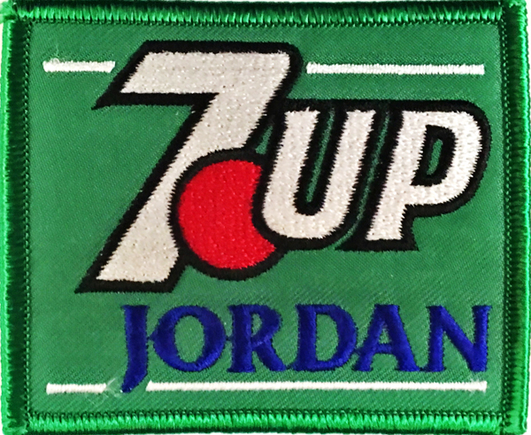 7up ジョーダン 1991 チームワッペン