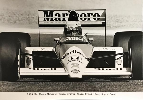 マクラーレンホンダ MP4/5 1989 A.プロスト プレスフォト