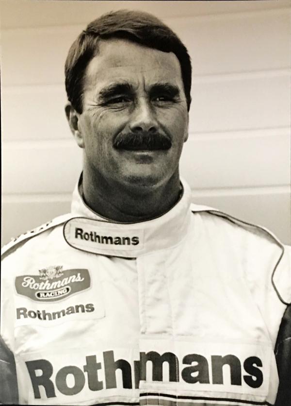 N.マンセル 1994 ウィリアムズルノー プレスフォト