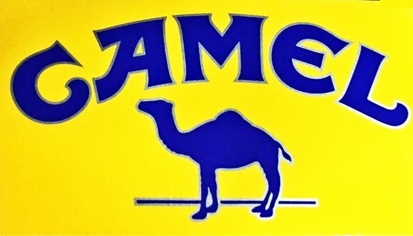 CAMEL(キャメル)プロモーションステッカー