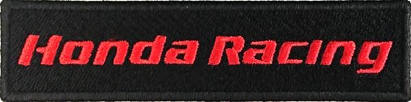 HONDA RACING ロゴワッペン