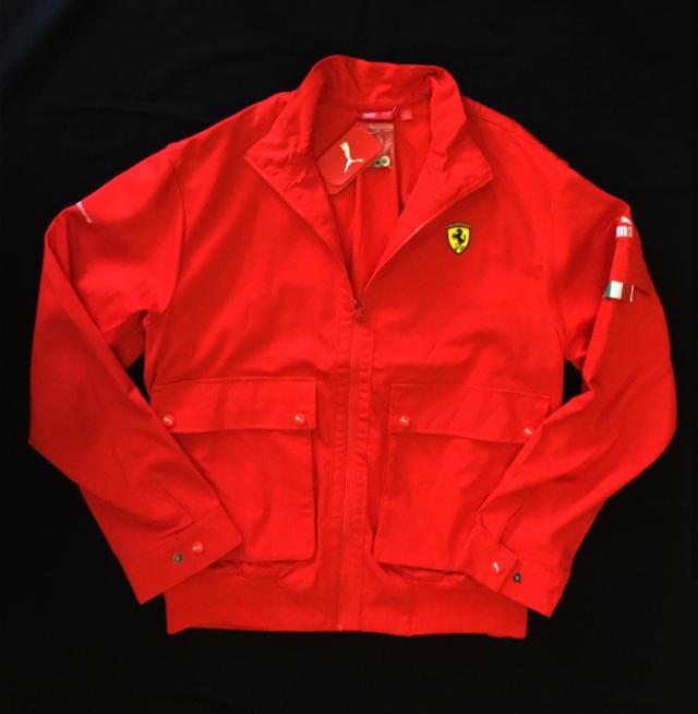 フェラーリ(FERRARI F1)F1パドッククラブ マルボロM-SCAPEゲスト用 ジャケット 新品 サイズL(大きめのL)