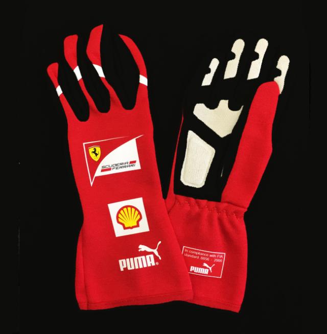 2011 フェラーリ(FERRARI F1) チーム支給品 メカニックグローブ 新品 サイズ11(L~XL)