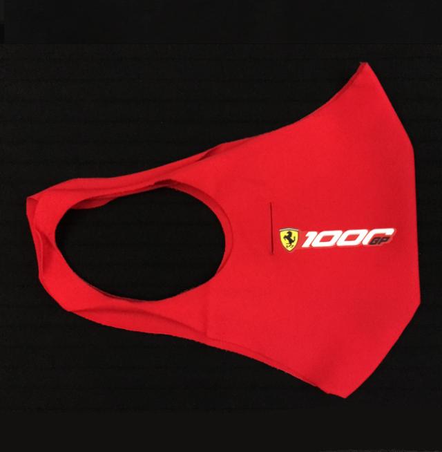 2020 フェラーリ (FERRARI F1)ドライバー&チーム支給品 トスカーナ1000GP限定 フェイスマスク(新品)