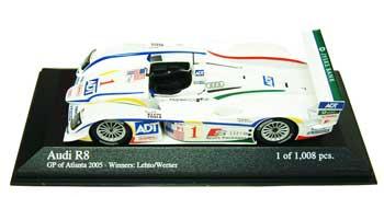 1/43 アウディ R8 チーム  2005年 アトランタGPチャンピオン