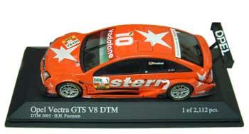 1/43  DTM2005 オペル べクトラ GTS V8 Stern Team OPC フェレンツェン