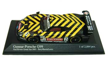 1/43 グンナー ポルシェ 966 GT1 WIDELOAD (G99) No.6 2003