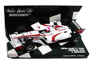 1/43 スーパーアグリ 2006ショーカー モンタニー (チェッカーボックス)